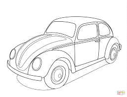 Old Ford Truck Coloring Pages - volkswagen beetle coloring page free printable coloring pages