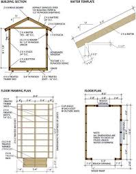 Diy 10x12 Shed Plans Free by 8x12 Shed Blueprints Foundation And Flooring Farm And Beach