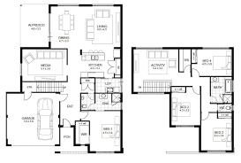2 story house floor plans interior design
