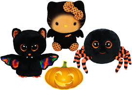bats images clip art amazon com ty beanie boos halloween crawly spider scarem bat