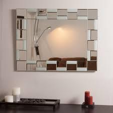 Wayfair Bathroom Mirrors by Decor Wonderland Quebec Modern Bathroom Mirror Beyond Stores