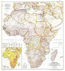 Physical Map Of Africa by 1950 Africa And The Arabian Peninsula Map Historical Maps