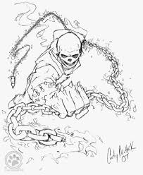 ghost rider coloring page qlyview com
