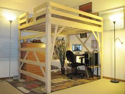 space saving loft bed gnscl