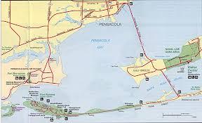 Map Florida Gulf Coast by