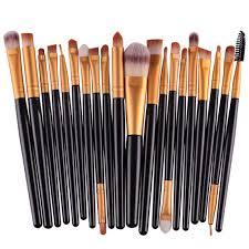 20pcs professional makeup brush set powder foundation eyeshadow