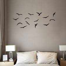 online get cheap flying bird wall decal aliexpress com alibaba waterproof flying birds wall stickers home decor wall decals china