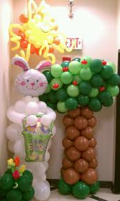 282 best balloon easter decorations images on pinterest balloon