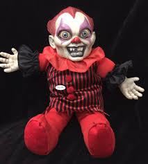 creepy horror baby doll face mask halloween costume accessory