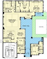 Split Level Ranch Floor Plans Florida House Plan With Wonderful Casita 42834mj Architectural