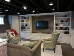 Black Ceiling Basement by 34 Best Basement Images On Pinterest Basement Ideas Basement