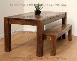 dining table and benches rustic dining table with bench interior exterior doors kitchen