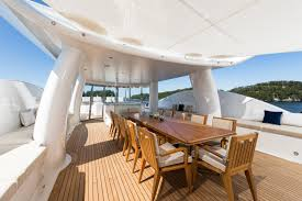dinning image gallery luxury yacht gallery browser