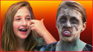 Fun And Easy Zombie Makeup Tutorial For Halloween By Kids For Boys