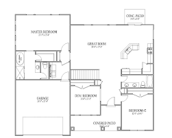 4 Bedroom Cabin Floor Plans Small 2 Story Cottage Plans Simple Two House Floor Cabin Two