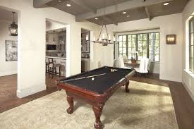 Pool Table In Dining Room by Media Room With Pool Table Design Ideas