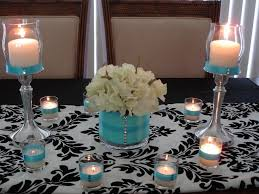 Black Centerpiece Vases by 74 Best Wedding Party Centerpieces Images On Pinterest