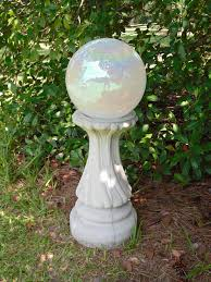 Gazing Ball Fountain The Cement Barn Manufactures Of Quality Concrete Statuary The