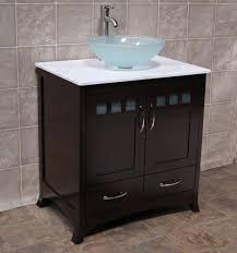 Bathroom Vanity With Vessel Sink Height Wwwislandbjjus - Height of bathroom vanity for vessel sink