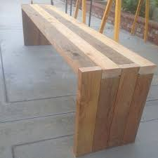 Build Wood Garden Bench by Best 25 Diy Wood Bench Ideas On Pinterest Diy Bench Benches