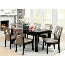 steve silver cornell 7 piece dining table set espresso hayneedle