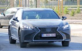 lexus v8 history spyshots 2019 lexus ls f spotted could pack twin turbo v8