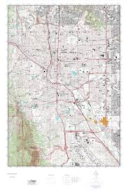 Colorado State University Map by Colorado Springs Map Arizona Map
