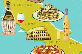 Map Of Italy Regions by Italy Food Map 16 Italian Foods And Drinks You Have To Try