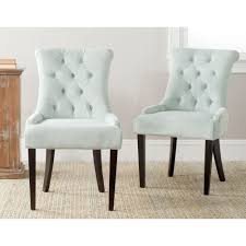Safavieh Dining Room Chairs by Safavieh Bowie Taupe Linen Side Chair Set Of 2 Mcr4712b Set2