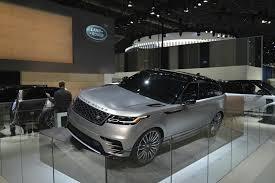 2018 range rover velar is a veiled brute in new york autoevolution