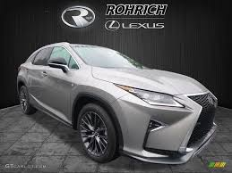 lexus atomic silver 2017 atomic silver lexus rx 350 f sport awd 120422965 gtcarlot