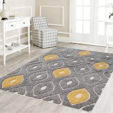 Yellow And Gray Living Room Rugs Ivy Bronx Grayyellow Area Rug Wayfair With Regard To Grey And