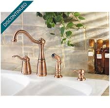 antique copper marielle 1 handle kitchen faucet gt26 4nrr