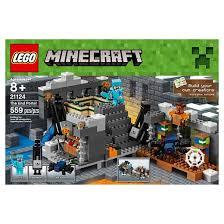 black friday target legos lego minecraft the end portal 21124 target