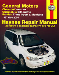 chevrolet van manuals at books4cars com