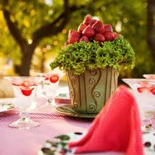 summer garden party theme u2013 table decorating ideas with strawberries