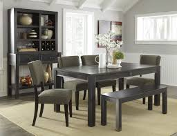 rectangle dining table with bench bathroom faucet and bench ideas