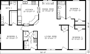 1 Bedroom Modular Homes Floor Plans by Home Miramar 92588k Kingsley Modular Floor Plan Fairmont Homes