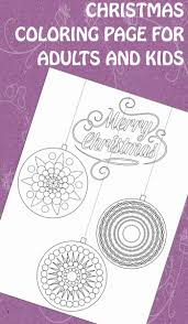 christmas ornament coloring page trail of colors