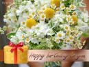 ส่งอีการ์ด การ์ดสุขสันต์วันเกิดด้วยช่อดอกไม้