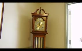 Grandmother Clock Howard Miller Grandfather Clock At The Manor House Youtube