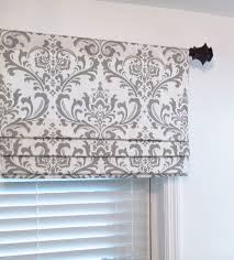 faux roman shade lined mock valance premier prints traditions