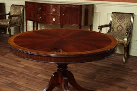 dining table ideas pedestal room round dining tables with leaves