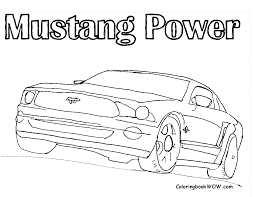 Old Ford Truck Coloring Pages - mustang coloring page getcoloringpages com