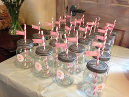 mason jar glasses for elephant baby shower personal projects