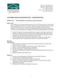 customer service resume duties and responsibilities Archives       Ceo Job Description happytom co