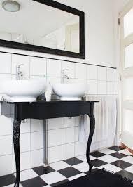 Black And White Small Bathroom Ideas 12 Gorgeous Black And White Bathrooms