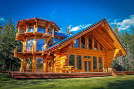 Log Home For Sale 10 Luxe Log Cabins To Indulge In On National Log Cabin Day