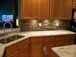 Lowes Kitchen Backsplash Interior Faux Stone Kitchen Backsplash Home Installing Faux Stone