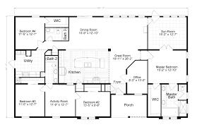 House Plans 5 Bedrooms 5 Bedroom Double Wide Floor Plans
